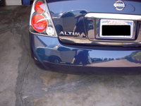 Bumper Scrapes and Scratches are easily repaired